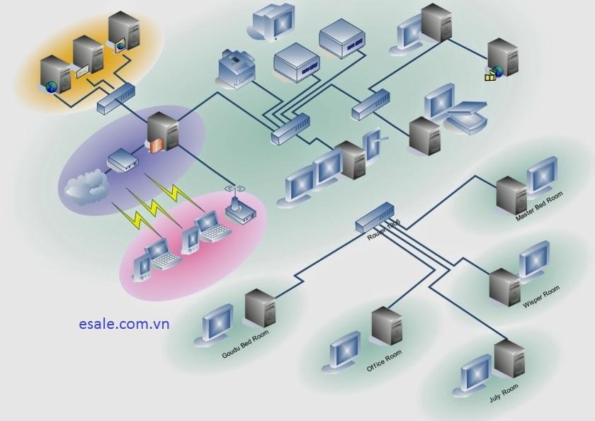 Lắp đặt hệ thống mạng wifi cho văn phòng